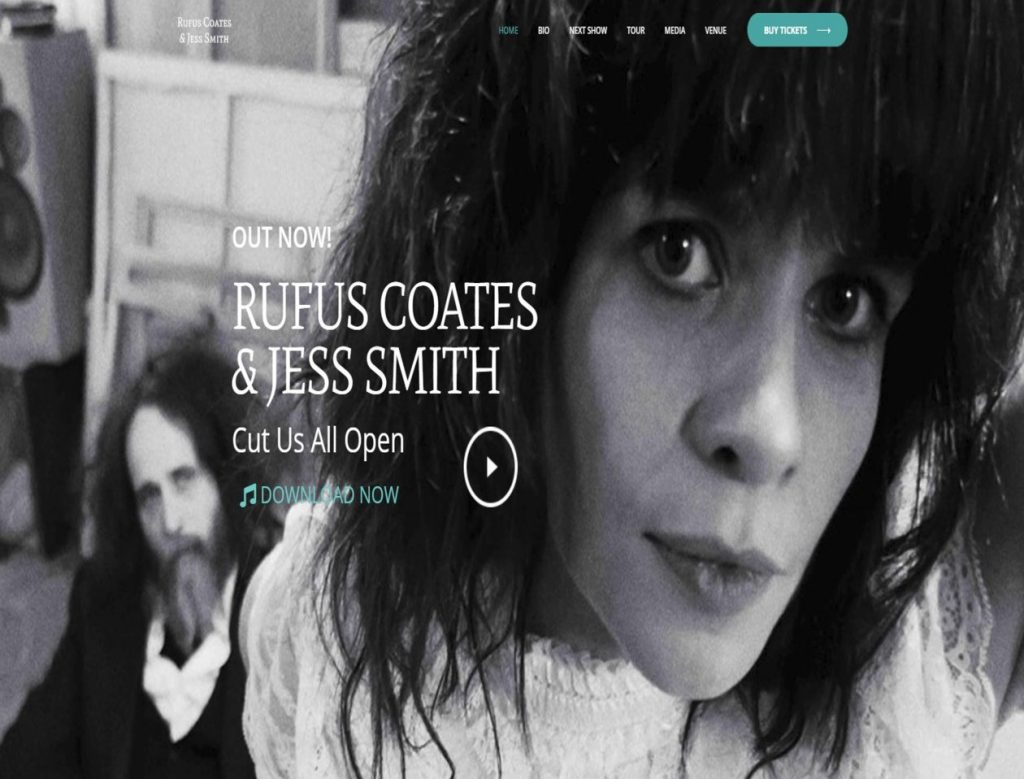Rufus Coates & Jess Smith - triXbe.com | Website Design