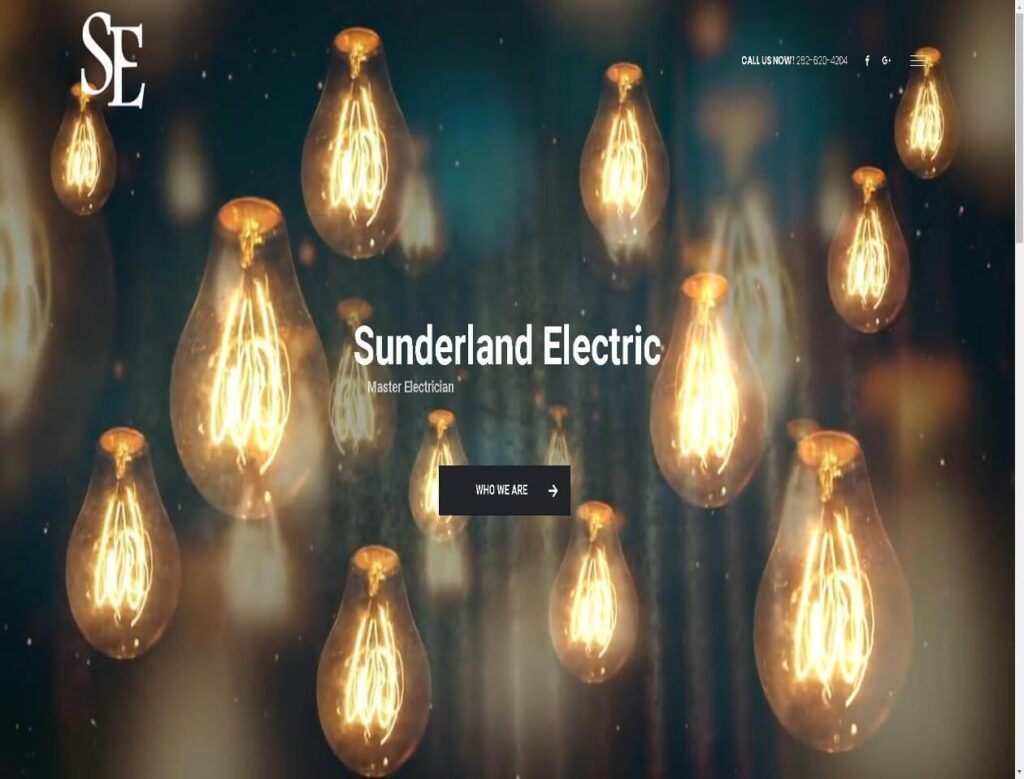 Sunderland Electric - triXbe.com | Website Design
